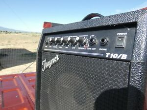 VINTAGE-TRAYNOR-T1O-B-BASS-AMPLIFIER-AMP-GUITAR-COMBO-peavey-band-speaker