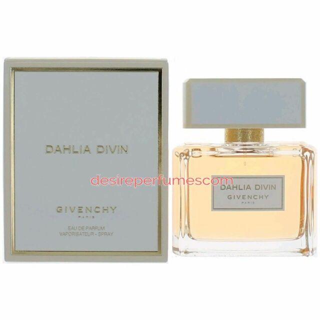 DAHLIA DIVIN GIVENCHY 75ML EAU DE PARFUM WOMEN NEW SEALED BOX.