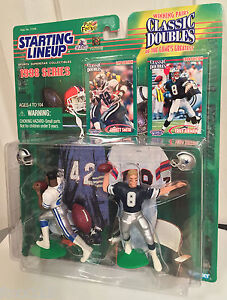 NFL-Starting-Lineup-1998-Classic-Doubles-Emmitt-Smith-Troy-Aikman-Dallas-Cowboys