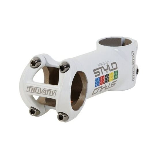 NOS Truvativ Stylo World Cup WC stem white 1-1 8   120mm.  31.6mm