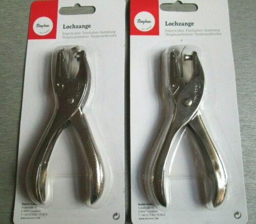 Choose from 1.5 mm or 6 mm Hole Punch Circle Cutter Rayher Punch Pliers