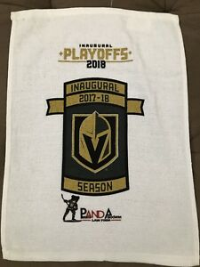 NHL Vegas Golden Knights Rally Towel Round 2 Game 1 Stanley Cup Playoffs 4/27/18