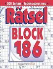 Rätselblock. Bd.186 von Eberhard Krüger (2013, Taschenbuch)