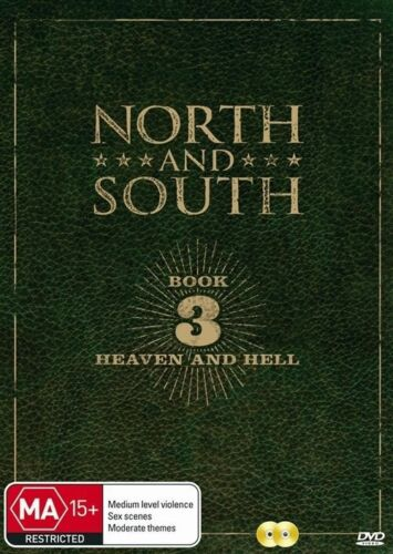 1 of 1 - North and South Book 3 (DVD, 2-Disc Set) BRAND NEW SEALED