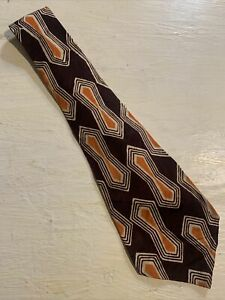 Vtg-1940s-40s-The-Esthete-Cravat-Atomic-Print-Swing-Tie-Wide-Short-VLV-48-4-5