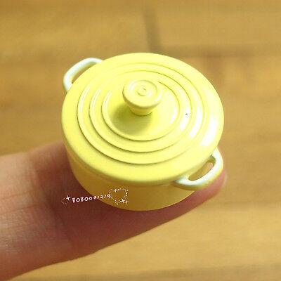Dollhouse Miniature 1:12 Toy Kitchen Metal Golden Coffee Pot D33