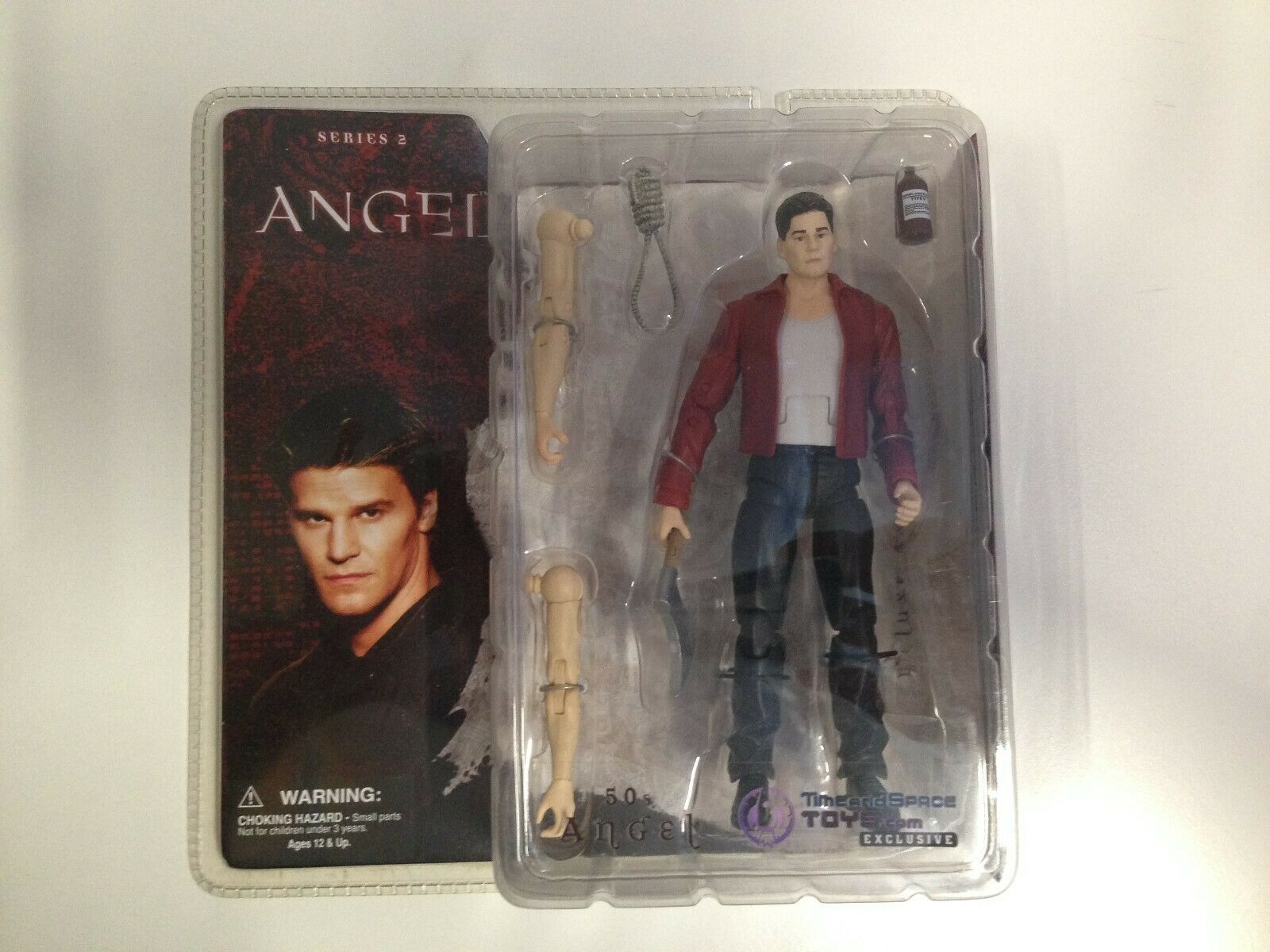 2006 Angel Action Figure - Series 2- 2- 2- 50's Angel -Time & Space Toys  Exclusive 0a09b5