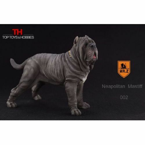 Mr.Z 1//6 Scale Neapolitan  Mastiff Dog Animal Statue Model Toy