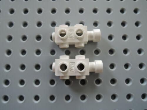 Lego 2 X Camera Motor Converter 4595 1x2x2//3 White 6953 6972 6933