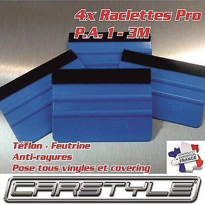 1x Raclette PRO 3M PA1 Téflon Feutrine souple anti rayures COVERING POSE FILMS