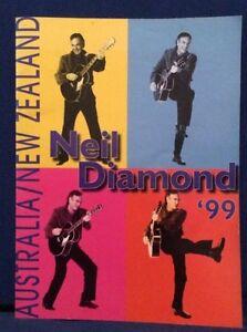 NEIL-DIAMOND-TOUR-BOOK-AUSTRALIA-NEW-ZEALAND-1999-PROGRAMME-RARE-CHEAP-AUS
