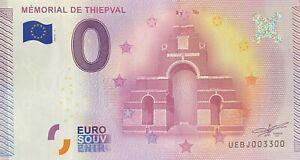BILLET-MEMORIAL-DE-THIEPVAL-FRANCE-2015-1-NUMERO-3300
