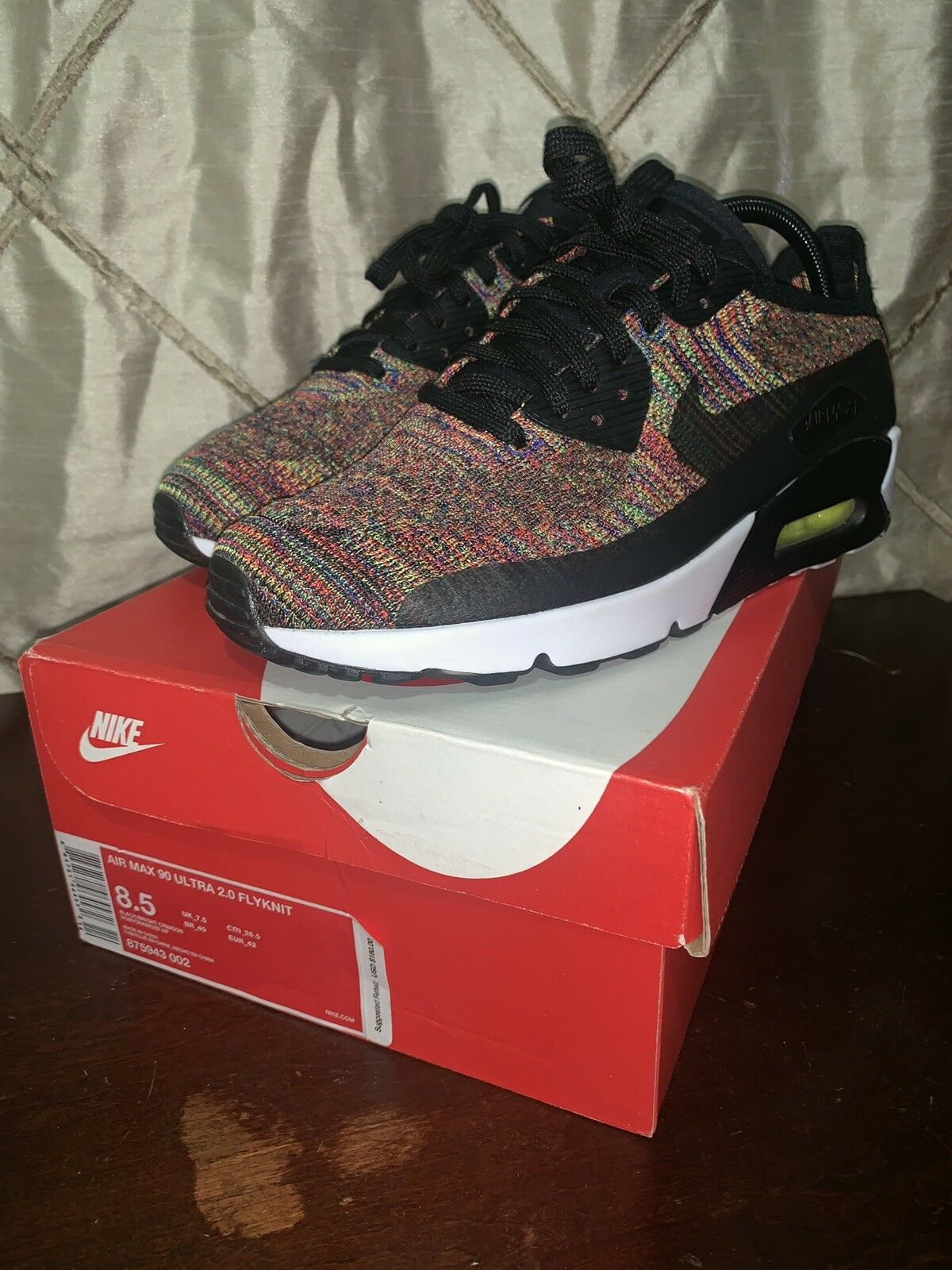 Air Max 90 Flyknit Multi color Size 8.5