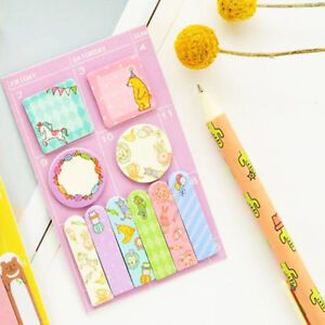 Cute-Kawaii-Animal-Memo-Pad-Paper-Stickers-Cartoon-Cat-Note-Daily-Planner-Sticky