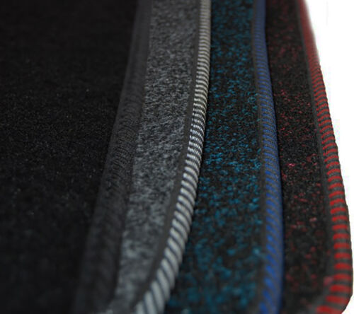 Maßgefertigte Fußmatten für Mercedes E-Klasse W211 Velours BLAU Komplett Set