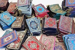 Wholesale-One-Hundred-100-Original-Turkish-tapestry-woven-coin-purse-6-x-4-Inch