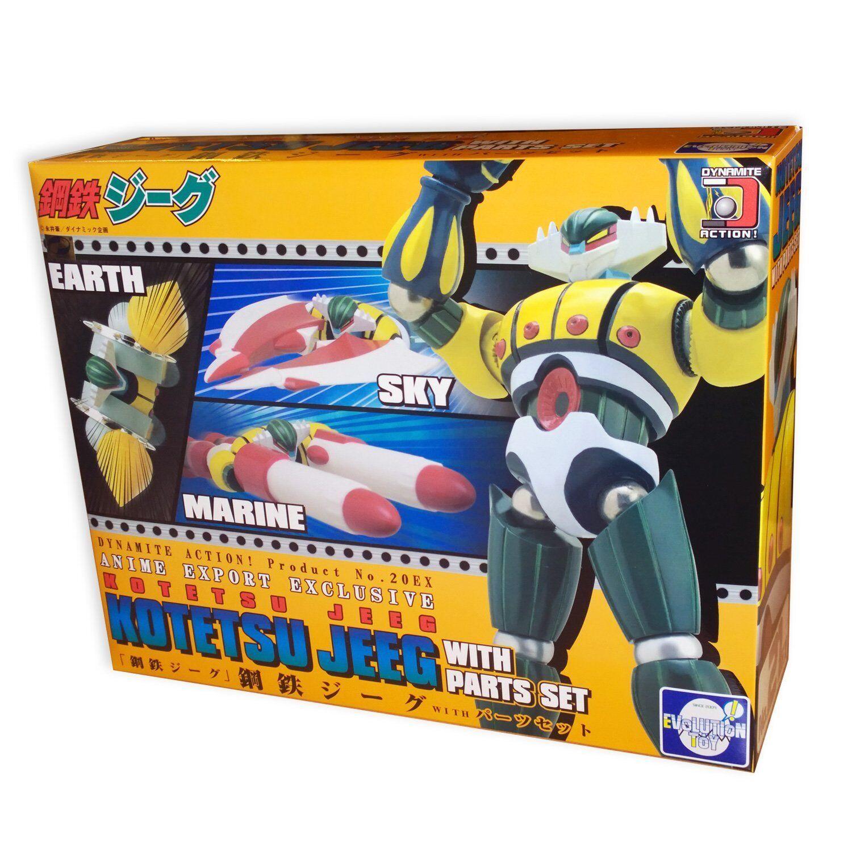Evolution Toy Dynamite Action 20EX Kotetsu Jeeg