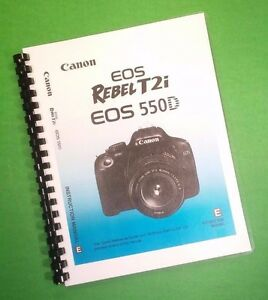 T2i/550d pdf eos for dummies rebel canon