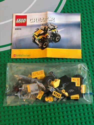 100/% COMPLETE CREATOR USED 20014 4X4 DYNAMO QUAD BIKE LEGO