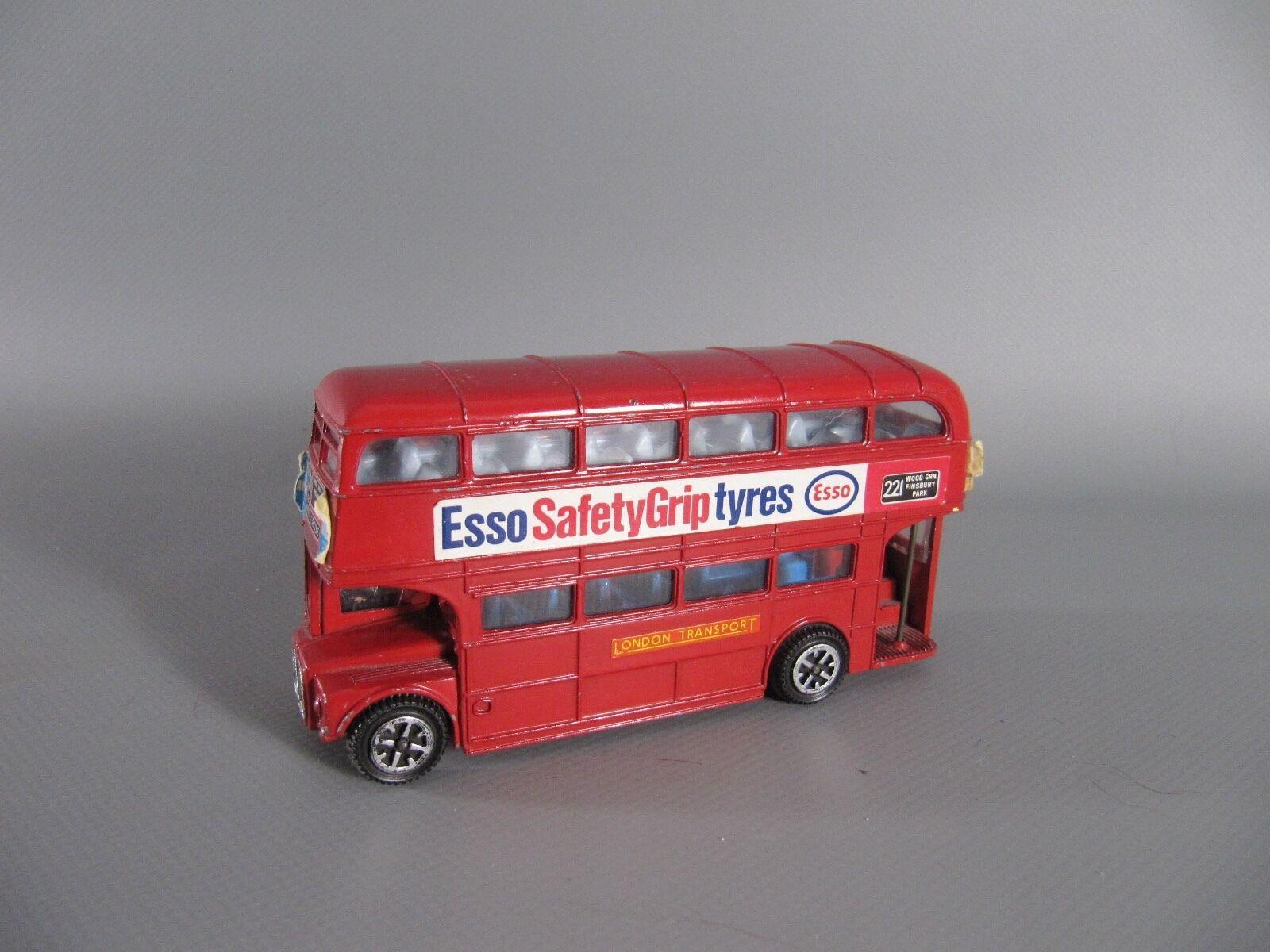 60s DINKY TOYS ROUTEMASTER bus 289 con schaffnerin e autista di autobus