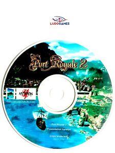 Port-Royale-2-Presentation-Disque-Eur-PC-Retro-Mint-State-Parfait-Etat-Complet