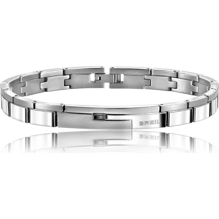 Bracciale Breil men Joint Collection acciaio satinato e lucido Ref. TJ1274
