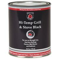 12 Pk Meeco´s Red Devil Black 16 Oz Barbecue Grill & Stove High Heat Enamel 403