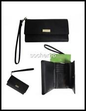 newest collection 6c167 b7db6 Kate Spade Laurel Way Black Saffiano Trifold iPhone Wristlet Bag 6 6s 7 Case