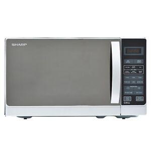 Sharp R 72a1 Sm V 25 Liter Microwave Oven 220 240 Volts