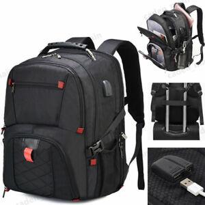 USB-Waterproof-Travel-Bag-Laptop-Backpack-Computer-Notebook-School-Swiss-Bag