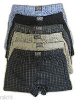 6 x Men's Boxer Shorts Big Size Boxers, Cotton Rich Underwear   2XL 3XL 4XL 5XL