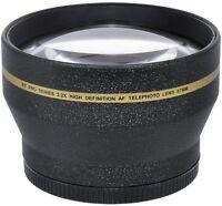 2.2x Telephoto Zoom Lens For Canon Eos 7d Mark Ii Dslr With18-135mm Lens Kit