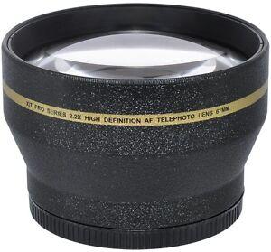 67MM 2.2X TELEPHOTO ZOOM LENS FOR CANON REBEL NIKON SONY ALPHA PENTAX DSLR