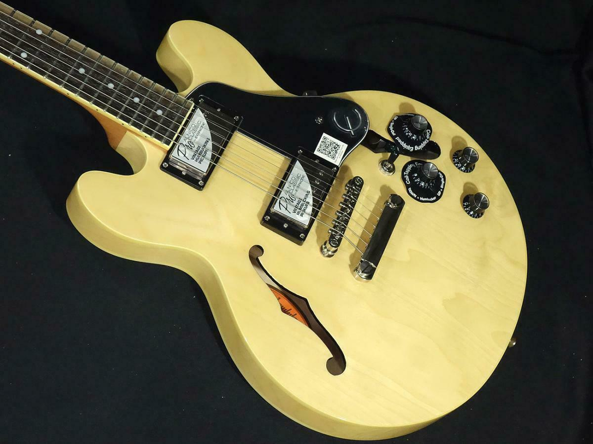 Epiphone ES-339 Pro Natural JAPAN beautiful rare EMS F S
