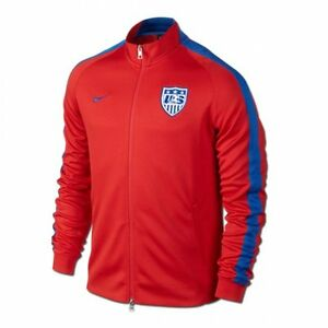 695f283be NIKE USA SOCCER TEAM AUTHENTIC N98 TRACK JACKET FIFA WORLD CUP ...