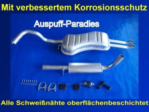 Kit 2.3 VR 5 Limousine /& Variant Abgasanlage Auspuff Endtopf VW Bora 1J2/&1J6