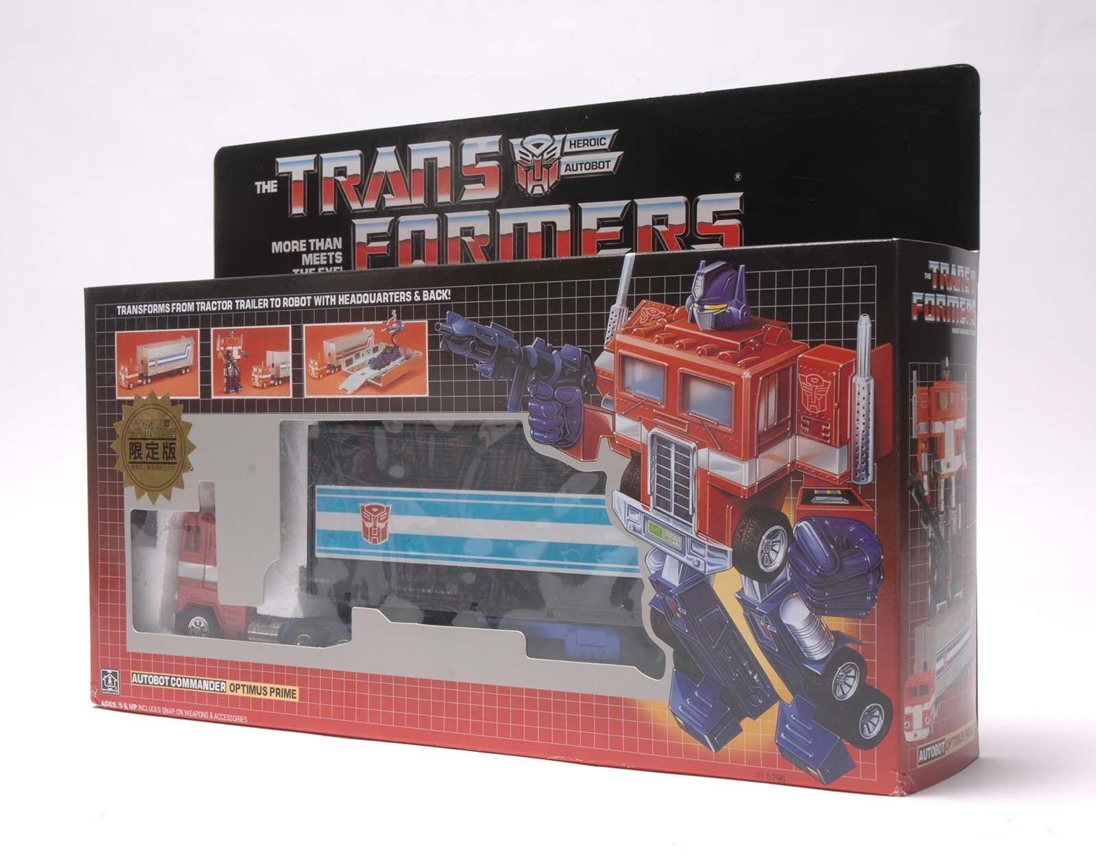 Transformers optimes Prime G1 Transformers Reedición Perla Rojo Negro Autobot Regalo