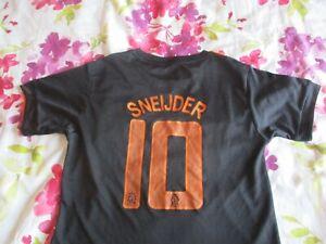 Wesley Sneijder #10 Holland Away Shirt 2012-13 age 12-13 yrs *read description*