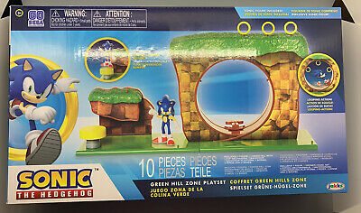 2020 New Sealed Sega Sonic The Hedgehog Classic Green Hill Zone Playset Jakks 192995403932 Ebay