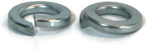 """- Qty-100 1//2/"""" .502 ID x .869 OD Split Ring Lock Washer Grade A Zinc"""