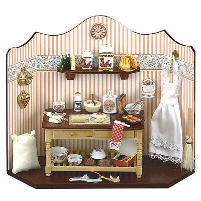 Other Dollhouse Miniatures Reutter Porzellan Panetteria Bakehouse Diorama Murale Puppenstube 1:12 1.790/1
