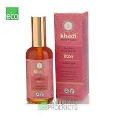 Khadi Ayurvedic Face and Body Oil Rose All Skin Types 100ml