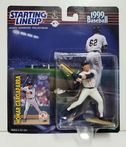 NOMAR GARCIAPARRA Starting Lineup SLU 1999 Action Figure & Card Boston Red Sox