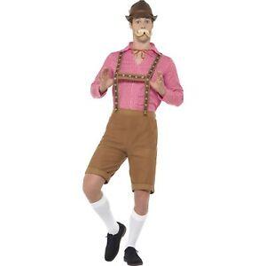 Mr Oktoberfest Bavarian German Beer Gents Fancy Dress Costume