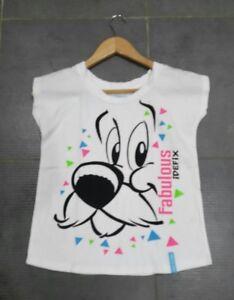 T-shirt-fille-8-10-ans-IDEFIX-Exclusivite-PARC-ASTERIX-Comme-neuf
