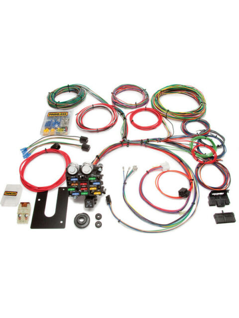 Painless Wiring Painless Gm Kit 21 Circuit Keyed Column Early (10101)