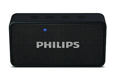 Philips BT64 Portable Bluetooth Speaker with Built-in microphone