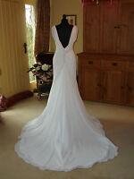 Maggie Sottero Wedding Dress ALMA Brand New size 14  Ivory