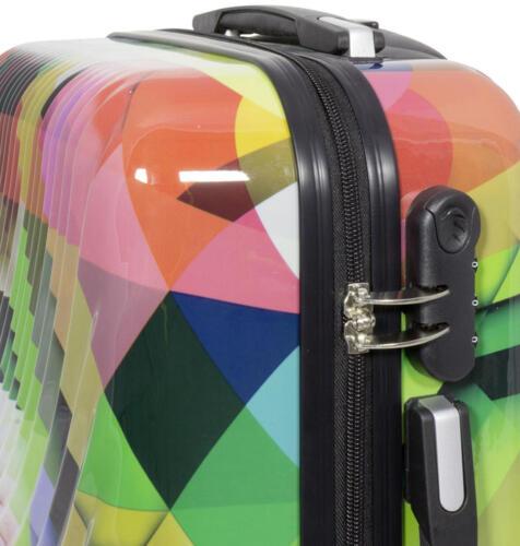 Coque rigide valise Trolley voyage vacances bagages individuellement et Set Motif PM Tbilissi
