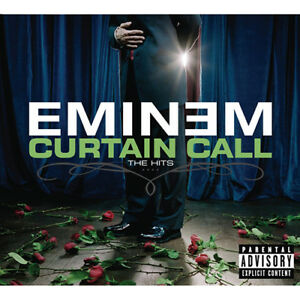 EMINEM-CURTAIN-CALL-The-Hits-Double-LP-VINYL-SEALED-amp-livre-par-Transporteur